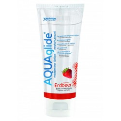 LUBRIFICANTE Aquaglide STRAWBERRY - 100 ML