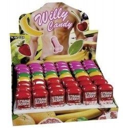 Caramelle Colorate a Forma di Pene al Sapore di Frutti