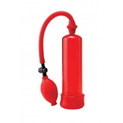 POMPA PER ALLUNGAMENTO PENE PW BEGINNERS POWER PUMP RED