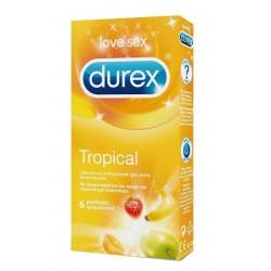 Profilattici Durex Tropical 6 Pezzi