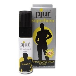 SPRAY LUBRIFICANTE/STIMOLANTE PJUR SUPERHERO - 20 ML