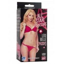 Masturbatore Realistico All Star Porn Stars Lexy Belle Pussy Vagina