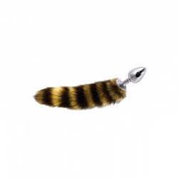 Plug Anale con Coda Jewellery Striped Tail