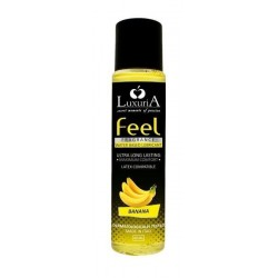 LUBRIFICANTE LUXURIA FEEL FRAGRANCE - BANANA - 60 ML